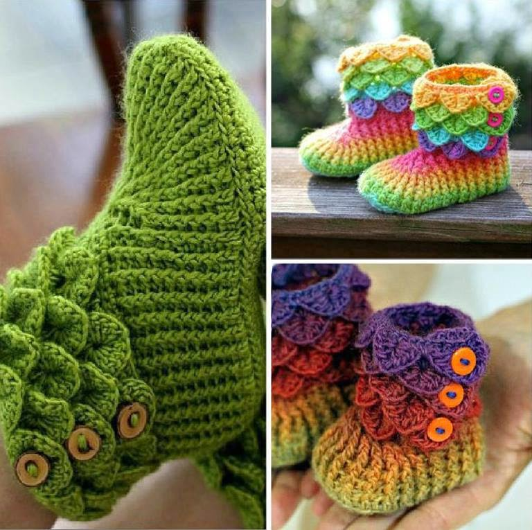 crochet booties the cutest crochet crocodile stitch booties [tutorial u0026 patterns] rveymtd
